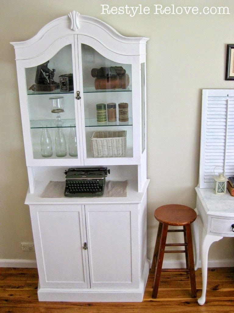 French Display Cabinet Makeover