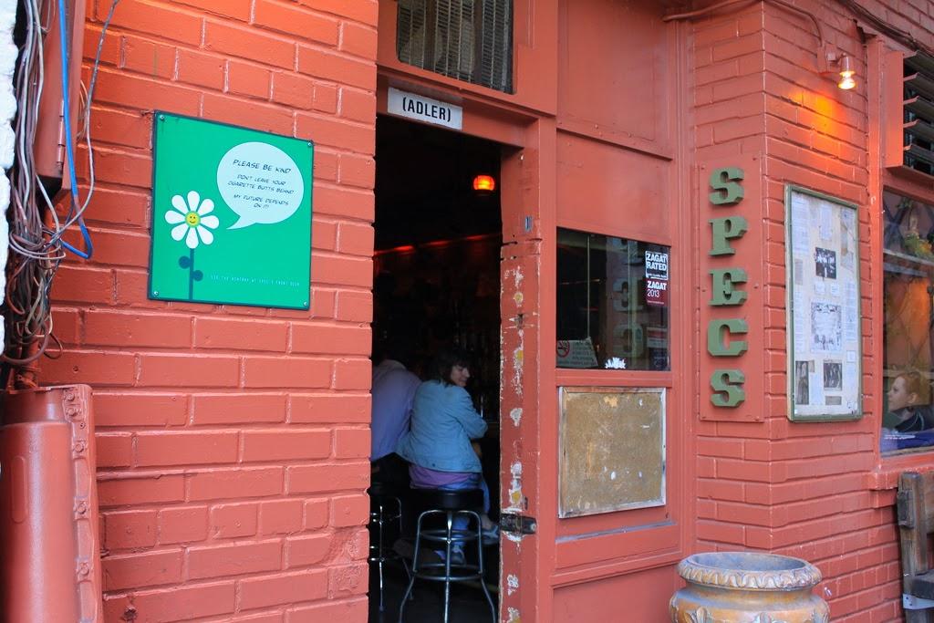 Alleyway Bar Specs
