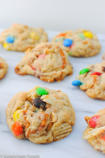 Use up Leftover Halloween Candy in Compost Cookies! www.buttercreamfanatic.com