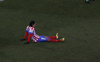 Falcao lesionado frente al Levante
