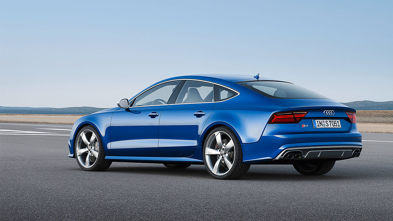 Audi S7 Sportback rear