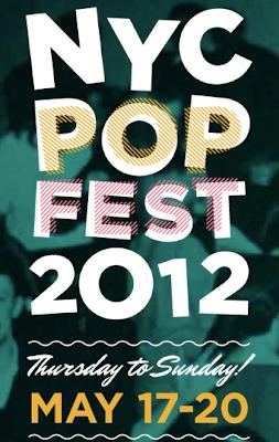 2012 NYC Popfest logo