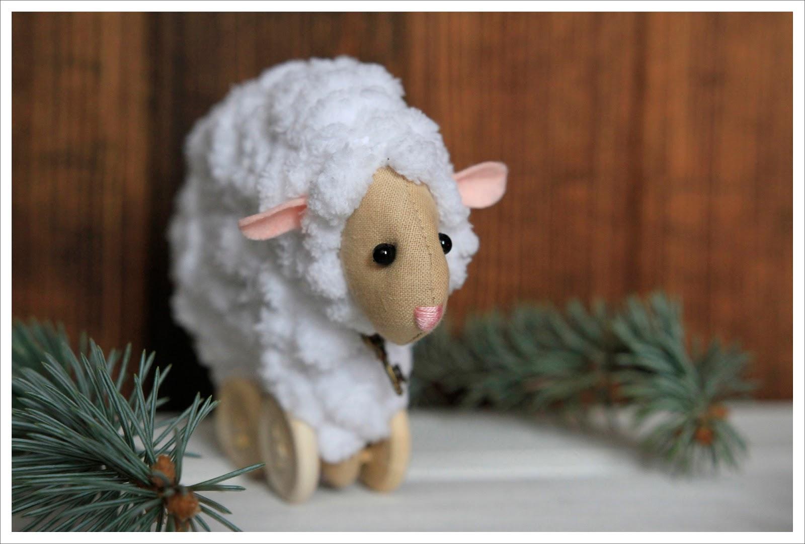 handmade овца