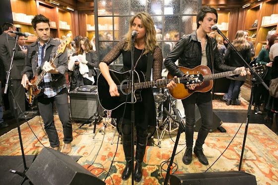 The Frye Company's 150th anniversary and launch party in Chicago with special musical guest, Blondfire.