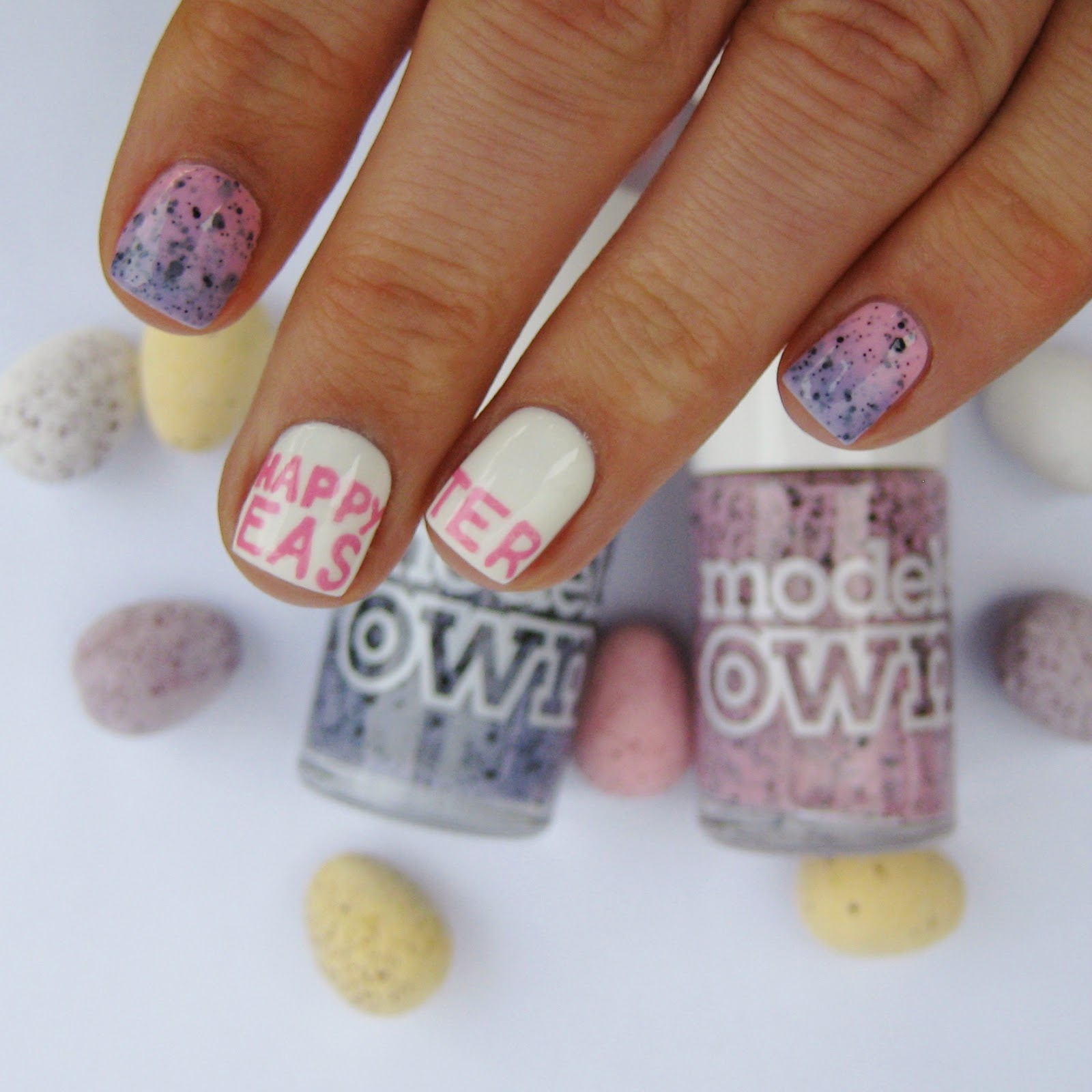 Dahlia nails happy easter easter nail art prinsesfo Choice Image