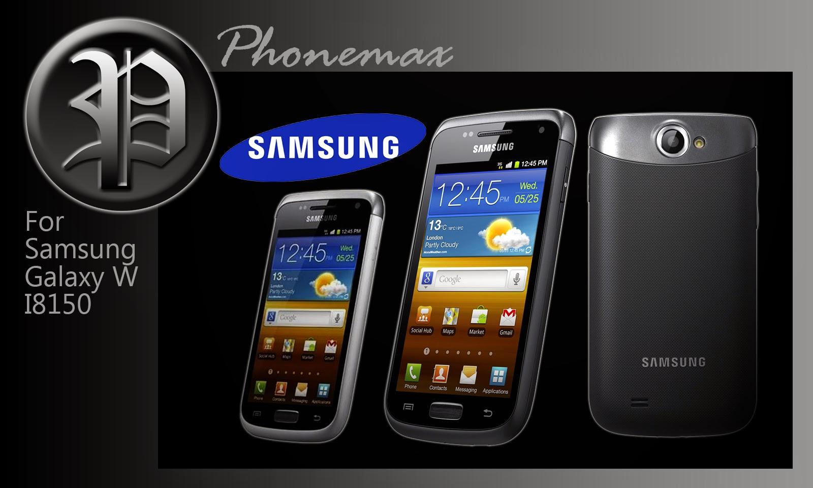Spesifikasi Dan Harga Samsung Galaxy W i8150