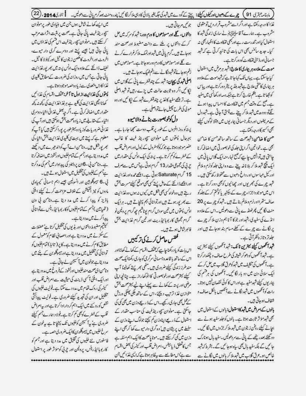 page 22 ubqari january 2014