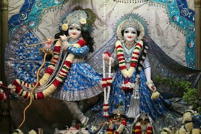 Sri Radha Vrindavan Chandra, Sri Krishna, Srimati Radharani