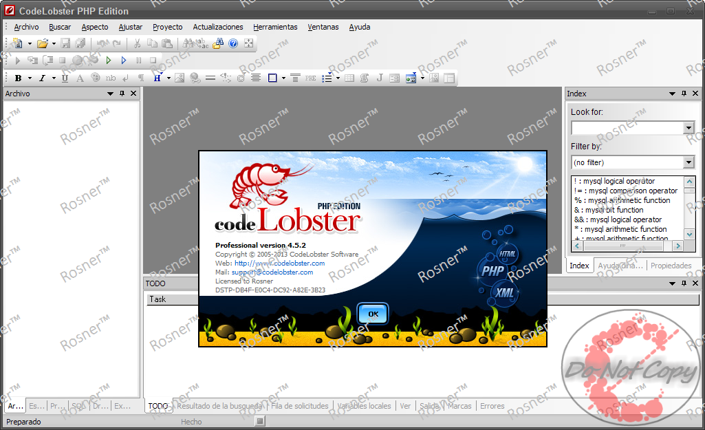 Codelobster php edition pro 5.3 cracked