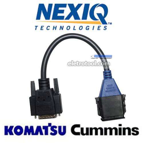 Conector para KOMATSU con motores CUMMINS de 5 pines