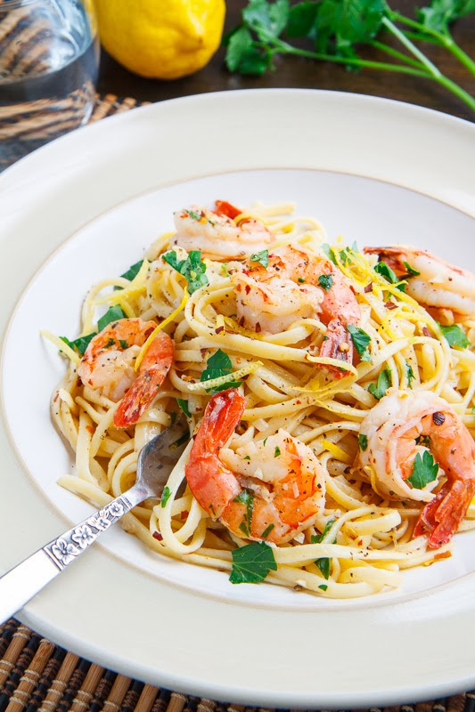 Shrimp scampi on closet cooking for Cuisine 800 wow