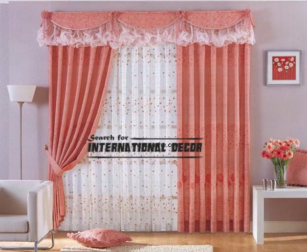Unique curtain designs for window decorations for 3 window curtain design