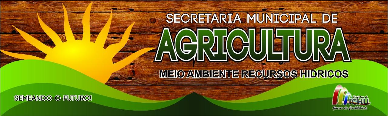 Blog da Secretaria Municipal de Agricultura