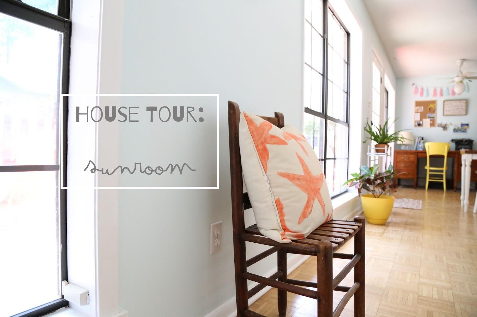 house tour: sunroom // katiefarrin.com