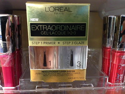 L'Oreal Extraodinaire Gel-Lacque display www.modenmakeup.com
