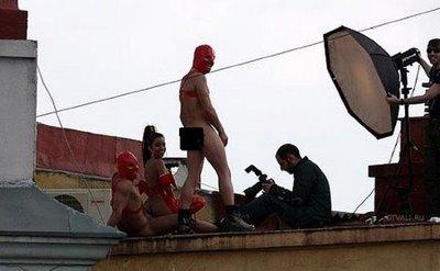 Foto Proses Membuat Film Porno