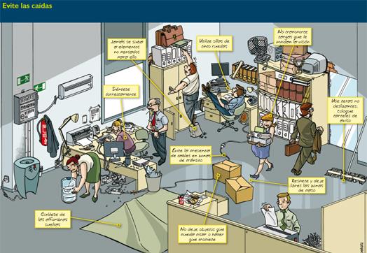 Riesgos laborales riesgos laborales for Prevencion de riesgos laborales en la oficina