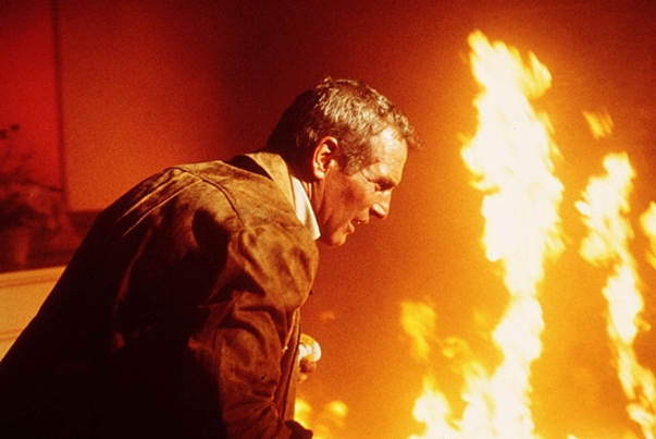 The Towering Inferno review Paul Newman