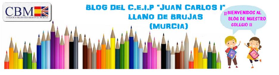 """BLOG DEL             CEIP """"JUAN CARLOS I""""                               DE LLANO DE BRUJAS"""