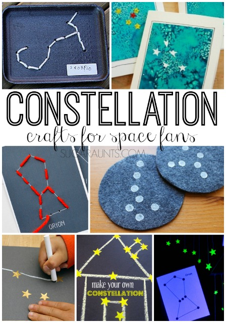 Kids will love these constellation crafts!