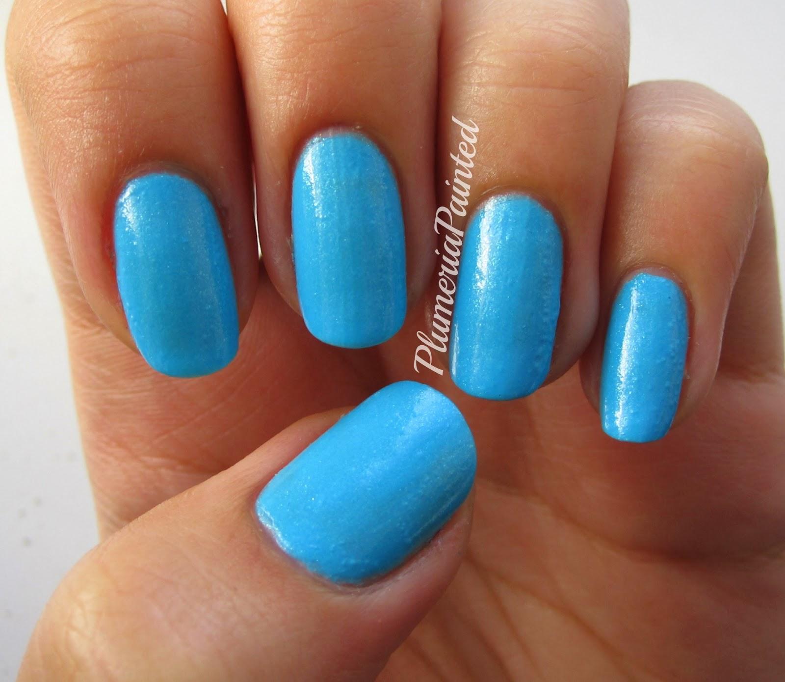 PlumeriaPainted: Blue Nails: Models Own - Asscher Blue