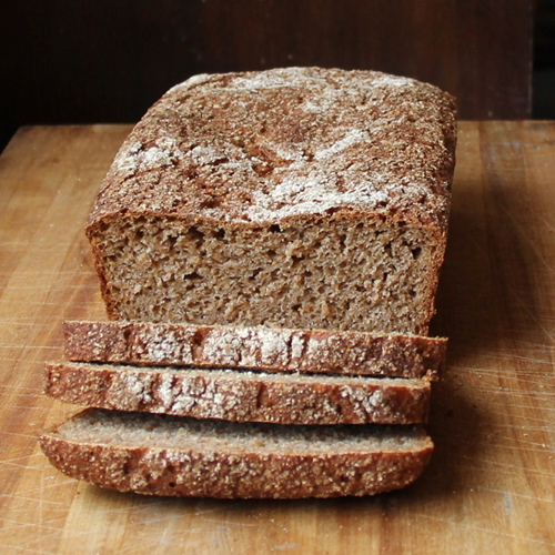 Cookistry: 100% Whole Wheat Bread (Kneadlessly Simple)