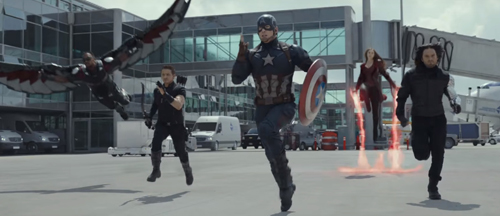 Captain America Civil War Trailer and Posters