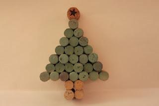Mas Ideas para Reciclar Corchos, Arboles de Navidad con Corchos Reciclados