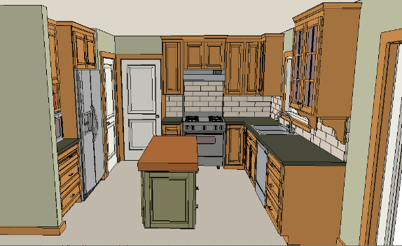 15 X 9 Kitchen Layouts 15 X 20 Kitchen Design   Home Design Part 84