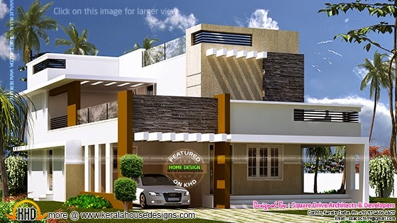 Exterior modern house