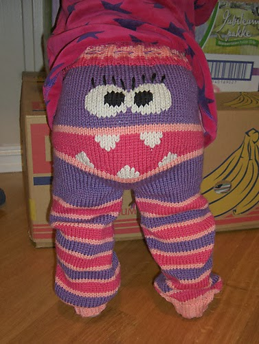 Crochet Pattern Baby Monster Pants : The Knitting Needle and the Damage Done: Halloween ...