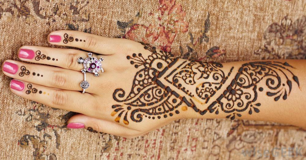 Henna Design Tattoo