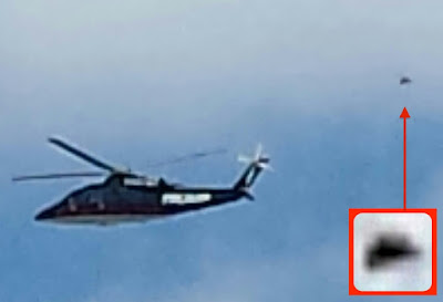 UFO Following Donald Trumps Helicopter 2015, UFO Sightings