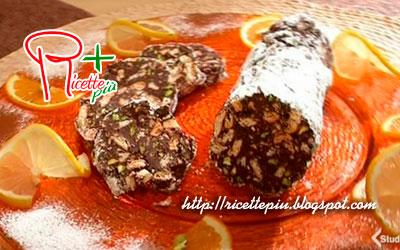 Salame al Cioccolato ai Pistacchi di Cotto e Mangiato