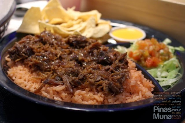 Taco Bell Gateway Mall Pork Barbeque Rice Meal