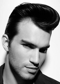 50s 60s Male Pompadour Hairstyle