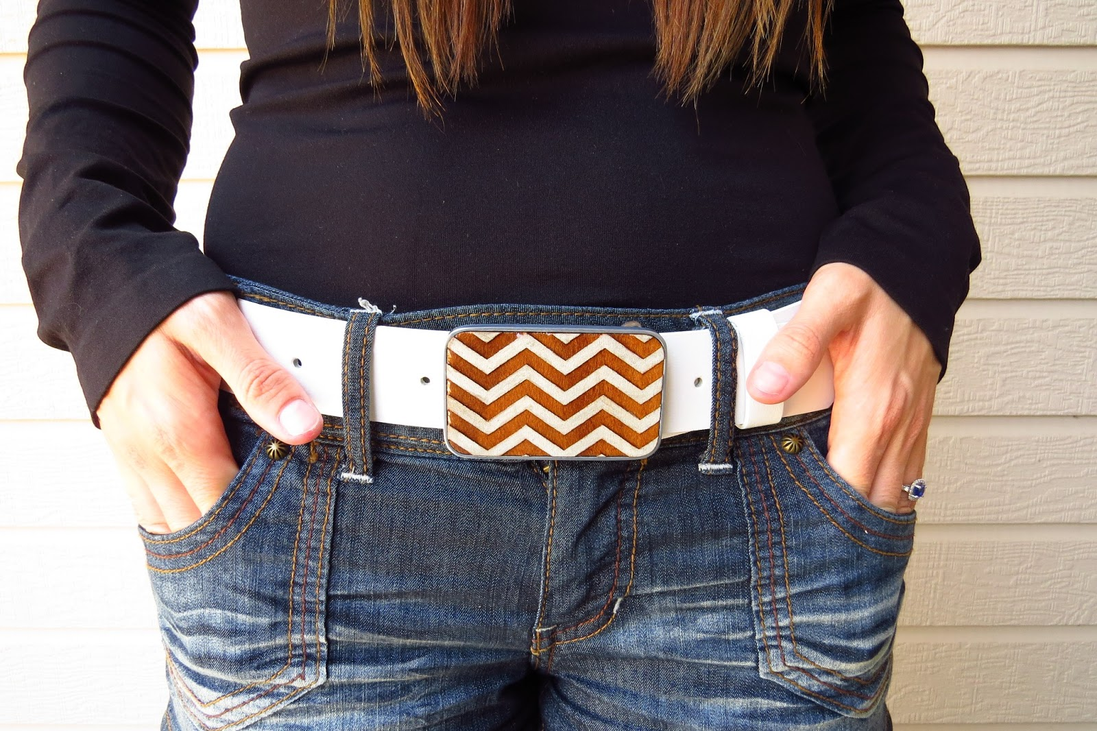 Chevron Belt Buckle, Bender Buckles