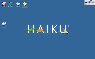 Haiku Default Desktop