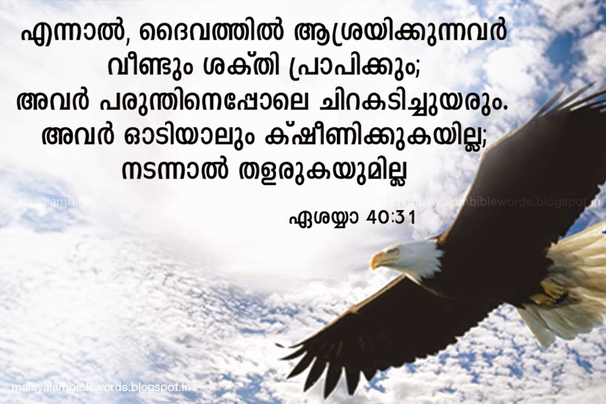 Strength Quotes From The Bible Malayalam Bible Words Isaiah 40 31 Malayalam Bible Words Bible