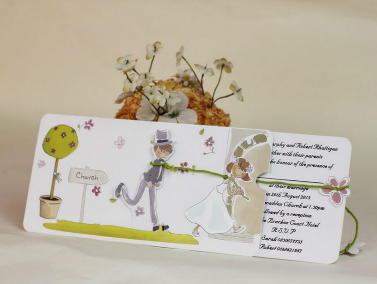 Cute Wedding Cards From As Low 190 Per Card Come With Insert And Envelope