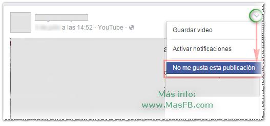 Cómo denunciar una publicación en Facebook - MasFB