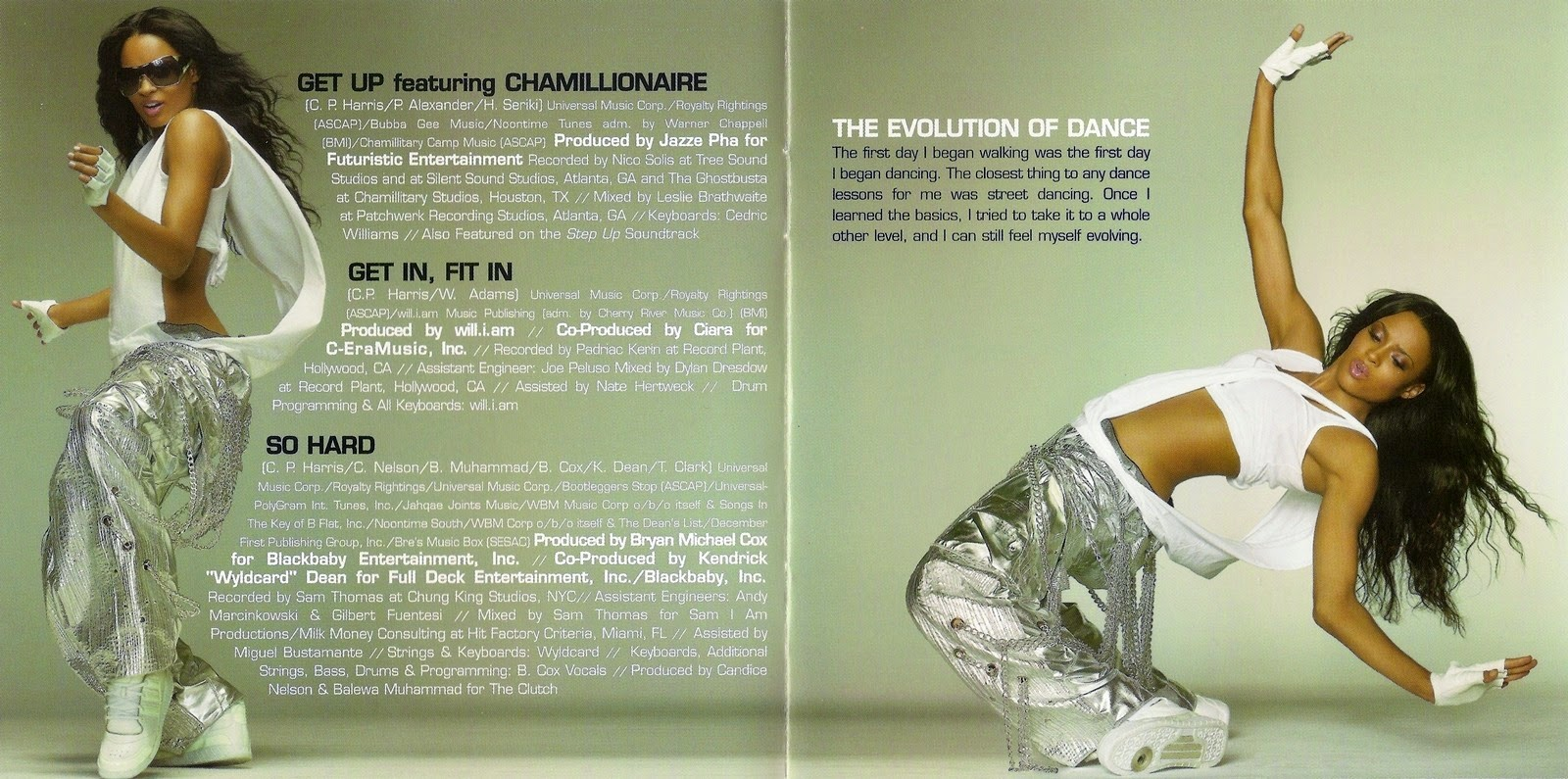 Ciara The Evolution