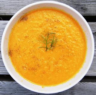Comer rico y sano: Crema de hinojo y zanahoria - photo#40