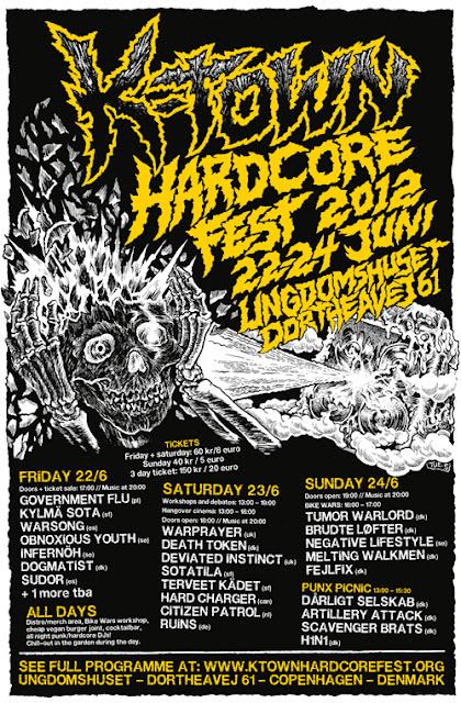 K-TOWN HARDCORE FEST 2012