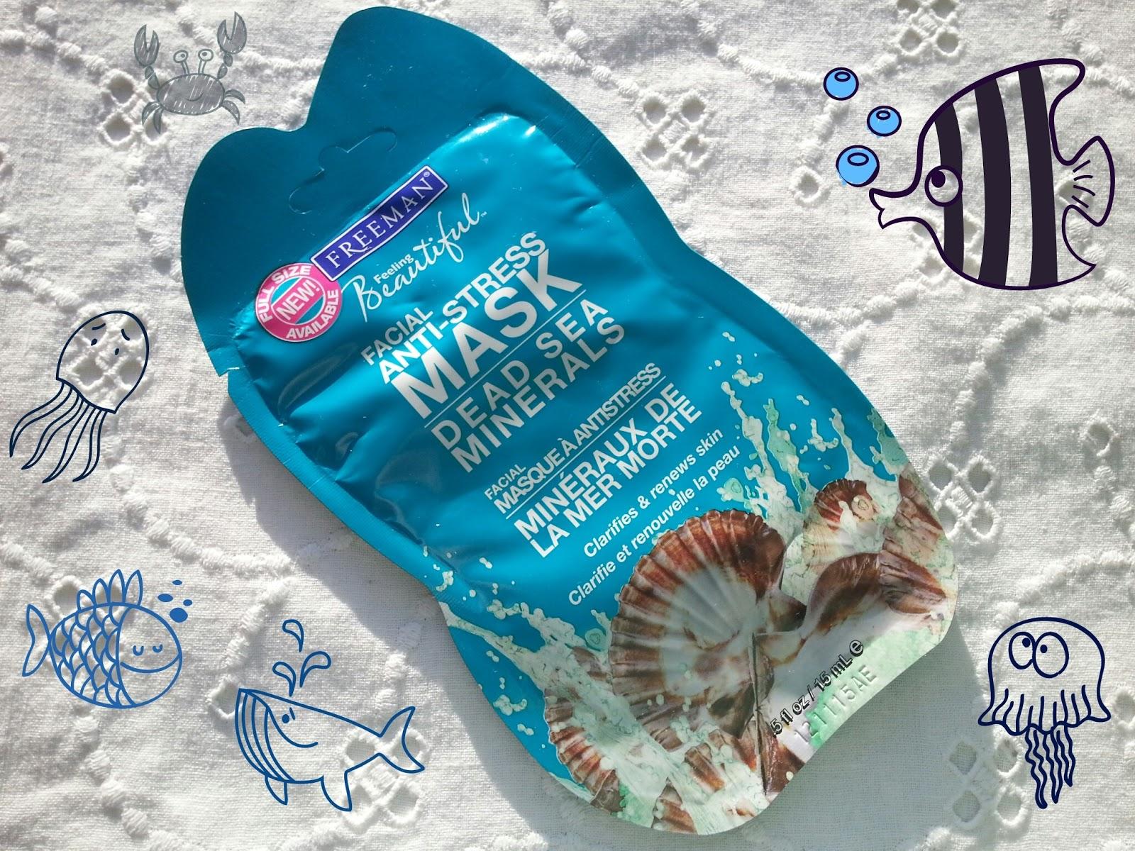 FREEMAN Facial ANTI-Stress mask Dead sea minerals