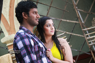 Vishal and Varalakshmi in Madha Gaja Raja