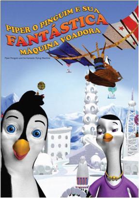 Filme Poster Piper O Pinguim e Sua Fantástica Máquina Voadora DVDRip XviD & RMVB Dublado