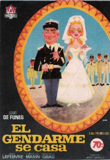 El gendarme se casa, Le gendarme se marie, Louis de Funès