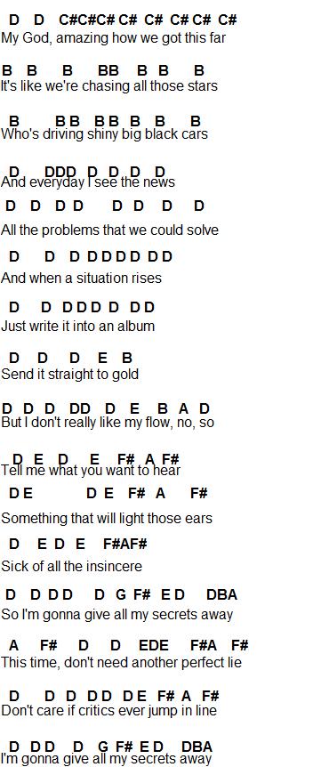 Flute Sheet Music Secrets