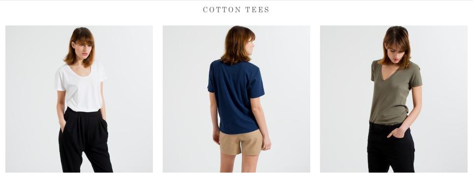 Everlane.com基本棉质T恤很漂亮,但仍然很昂贵